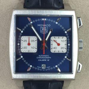 TAG Heuer Monaco Automatik Calibre 12 Chronograph Ref. CAW2111.FC6183