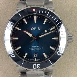 Oris Aquis Date Clean Ocean Lim. Edition 01 733 7732 4185-SET
