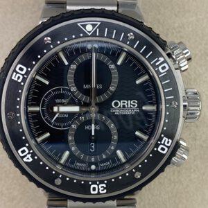 Oris ProDiver Chronograph Ref. 01 774 7727 7154-Set