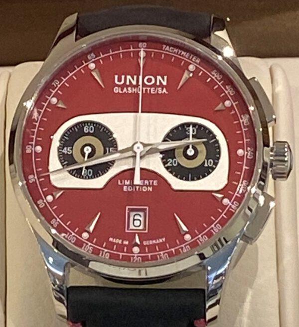 Union Glashütte Noramis Chronograph Ltd. Edition Sachsen Classok 2020 Ref. D008.427.16.421.09