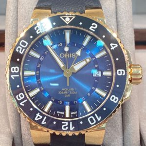 Oris Carysfort Reef Gold Limited Edition Limited 50 pcs Ref. 01 798 7754 6185-Set