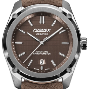 Formex Essence Automatik Chronometer Braun am Lederband Ref. 0330.1.6351.722