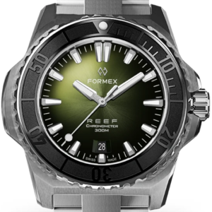 Formex REEF Automatik Chronometer COSC 300M black / green Ref. 2200.1.6302.100