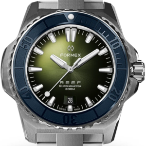 Formex REEF Automatik Chronometer COSC 300M blue / green Ref. 2200.1.6303.100