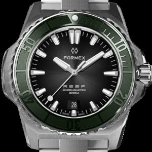 Formex REEF Automatik Chronometer COSC 300M green / black Ref. 2200.1.6320.100