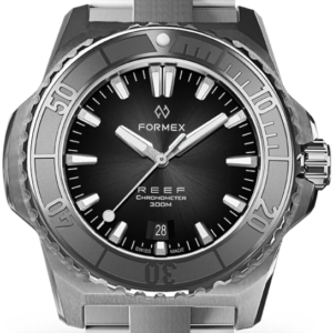 Formex REEF Automatik Chronometer COSC 300M silver / black Ref. 2200.1.6321.100