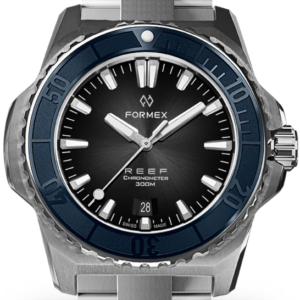 Formex REEF Automatik Chronometer COSC 300M blue / black Ref. 2200.1.6323.100