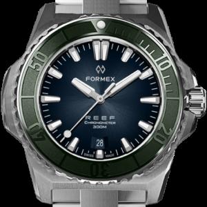 Formex REEF Automatik Chronometer COSC 300M green / blue Ref. 2200.1.6330.100