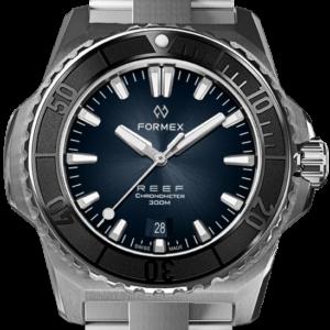 Formex REEF Automatik Chronometer COSC 300M black / blue Ref. 2200.1.6332.100