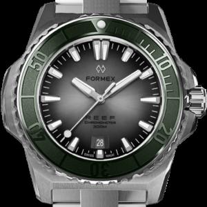 Formex REEF Automatik Chronometer COSC 300M green / silver Ref. 2200.1.6340.100