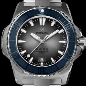Formex REEF Automatik Chronometer COSC 300M blue / silver Ref. 2200.1.6343.100