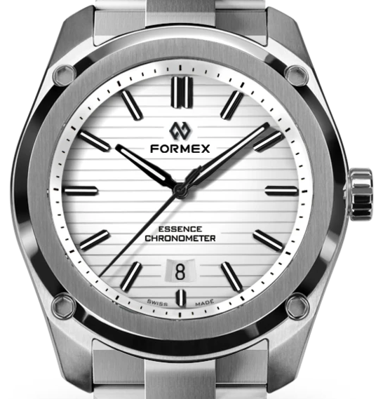 Formex Essence Fortythree Chronometer COSC White dial