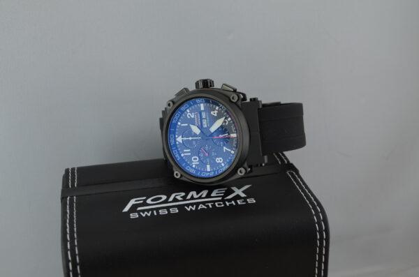 Formex Pilot Automatik Chronograph Karbon Schwarz Limited Edition Ref. 1100.9.8199.910